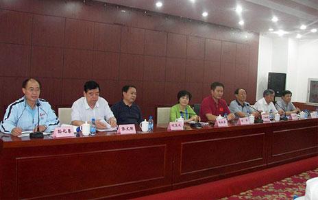 2013年二届老健会门球交流活动举行组委会联席会议