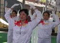 [组图]二届老健会门球交流活动开幕 佳木斯快乐舞步
