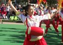 [组图]2013二届老健会门球交流活动开幕 健身腰鼓