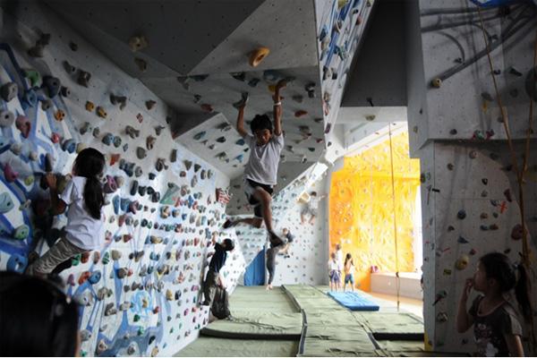 上海恒毅室内攀岩馆