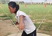 2013年女子投掷高水平后备人才训练营在沈阳开营