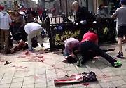 [组图]-波士顿马拉松发生爆炸 至少2人死亡伤百人