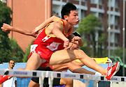 全国中学生体育传统项目学校联赛田径赛长沙举行