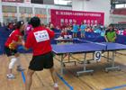 [组图]二届老健会乒乓球交流活动 精彩发球瞬间