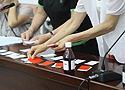[组图]第二届全国老健会柔力球交流活动套路项目抽签