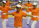 [组图]老健会柔力球活动开幕文艺表演 快乐健身操