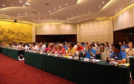 中国老体协气排球专委会联席会议日前在厦门召开