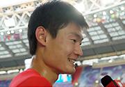 世锦赛男子100米预赛 加特林张培萌苏炳添晋级