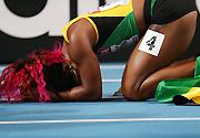 莫斯科田径世锦赛:牙买加选手获女子百米冠军