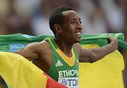 田径世锦赛:埃塞俄比亚选手获得男子800米冠军