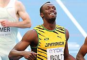博尔特晋级莫斯科田径世锦赛男子200米半决赛
