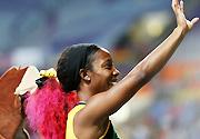 莫斯科田径世锦赛:弗雷泽获得女子200米冠军