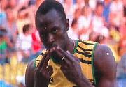 莫斯科田径世锦赛 男子200米博尔特豪取三连冠