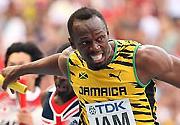 田径世锦赛牙买加夺得男子4x100米接力决赛冠军