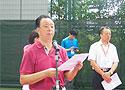 [组图]全国老健会网球活动开幕 肖光成致欢迎辞