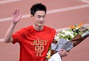 全运会田径 男子100米决赛张培萌10秒08夺冠军
