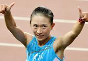 [组图]-全运会田径女子10000米 青海队曹茉婕夺冠