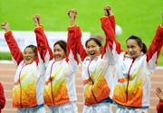 [组图]-全运会田径:女子4*100米接力 江苏队夺冠
