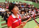[组图]中国老年体协副主席林淑英讲话