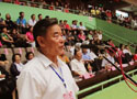 [组图]中国老体协健身球操专委会主任胡延森宣布开幕