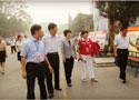 [组图]参观焦作市老年体育活动图片展览