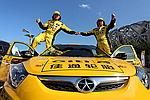 [组图]中国越野拉力赛发车 顶尖赛车手齐聚一堂