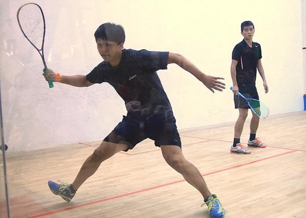 全国壁球(团体)锦标赛 香港特区队包揽团体冠军