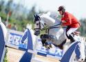 马术障碍团体赛内蒙古夺冠