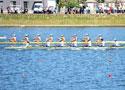 赛艇女子2000米八人单桨有舵手辽宁队夺冠
