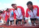 2千米4人双桨广东夺金