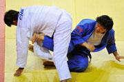 女子柔道78公斤级杨秀丽夺冠
