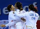 全运会女子重剑 江苏队夺团体冠军