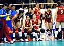 女排亚锦赛半决赛 中国队2比3惜败泰国无缘决赛