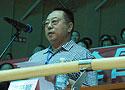 [组图]山东省老年人体育协会副主席李长顺致辞