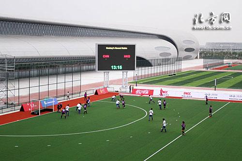 曲棍球赛事按照东亚运标准进行测试