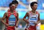 东亚运动会田径比赛赛况