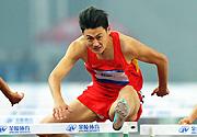 [组图]-东亚运动会男子110米栏 中国选手江帆夺冠