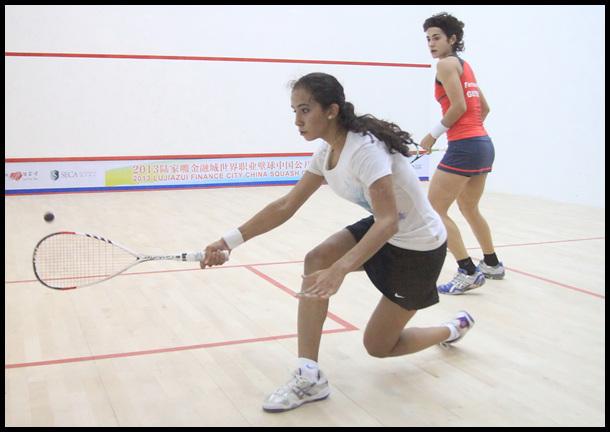 世界中国公开赛 埃及果哈尔VS圭亚那费尔南德斯