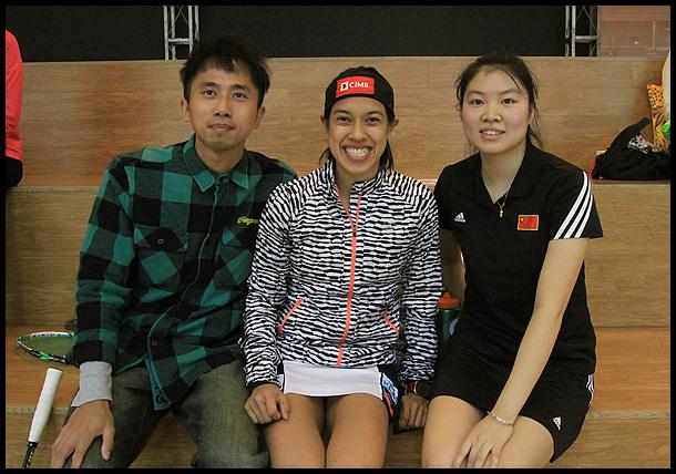 世界职业壁球中国公开赛 女子壁球巨星登陆上海