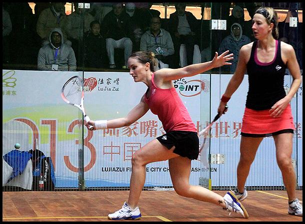 职业壁球中国公开赛决出四强 格林汉姆VS沃特斯