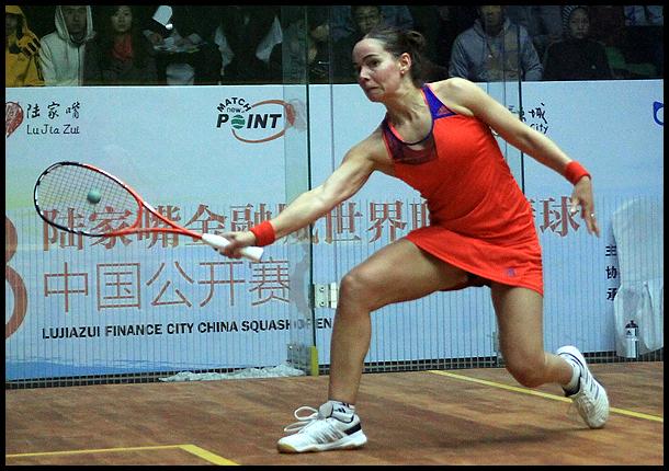 2013职业壁球中国公开赛乔爱尔.金VS珍妮.邓卡夫