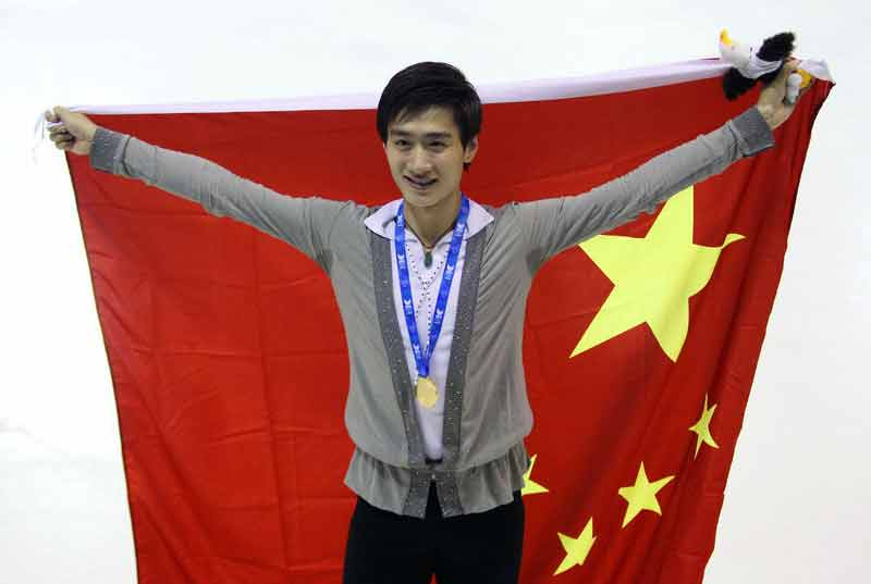 大冬会:花样滑冰宋楠为中国代表团夺得首金