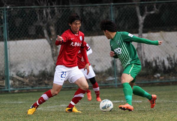 松江热身赛0-0战平绿城 青年队3-0拿下中乙劲旅