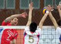 全国男排联赛半决赛次轮 北京3比2胜山东
