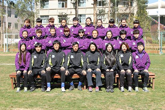 浙江杭州—女足—中国足球协会乙级联赛