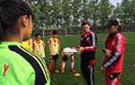女足少年香河集训选拔 备战月底U14亚锦赛