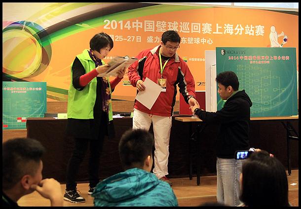 中国壁球巡回赛 上海分站赛举行分组赛抽签仪式