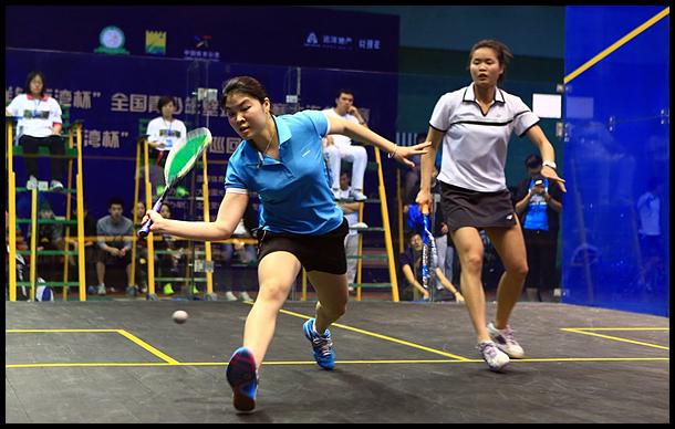 2014中国壁球巡回赛在大连远洋钻石湾壁球馆举行
