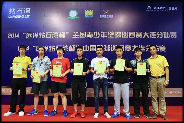 中国壁球巡回赛和青少年壁球巡回赛大连圆满落幕