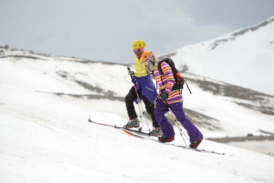 [组图]-2014中国青海岗什卡亚洲滑雪登山交流会